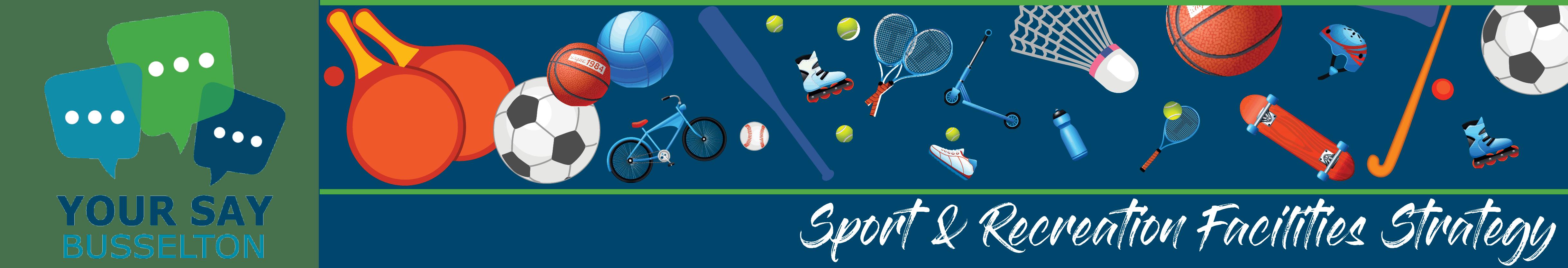 Sport & Recreation Survey Banner