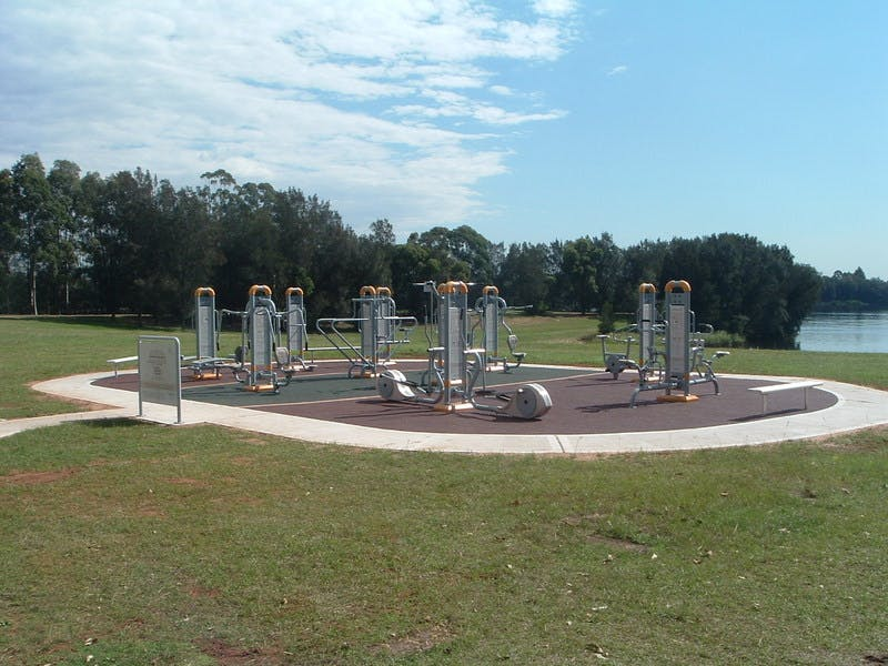 Example of an outdoor gym in the Liverpool Council area