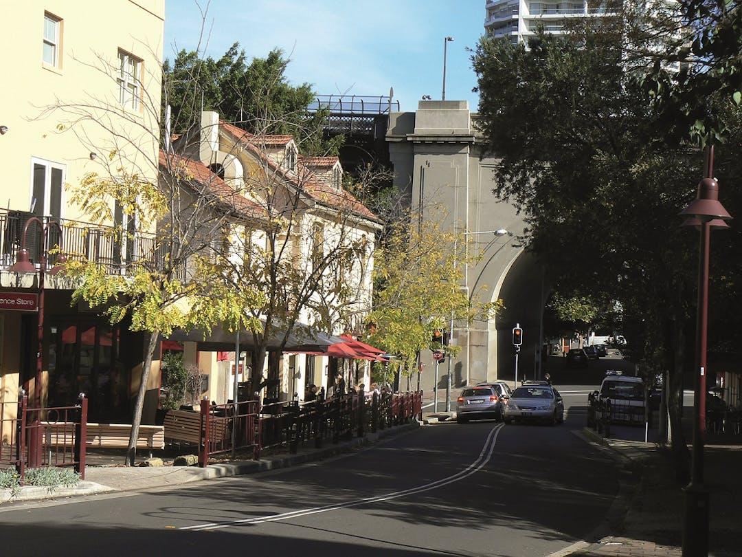 Fitzroy toward bridge