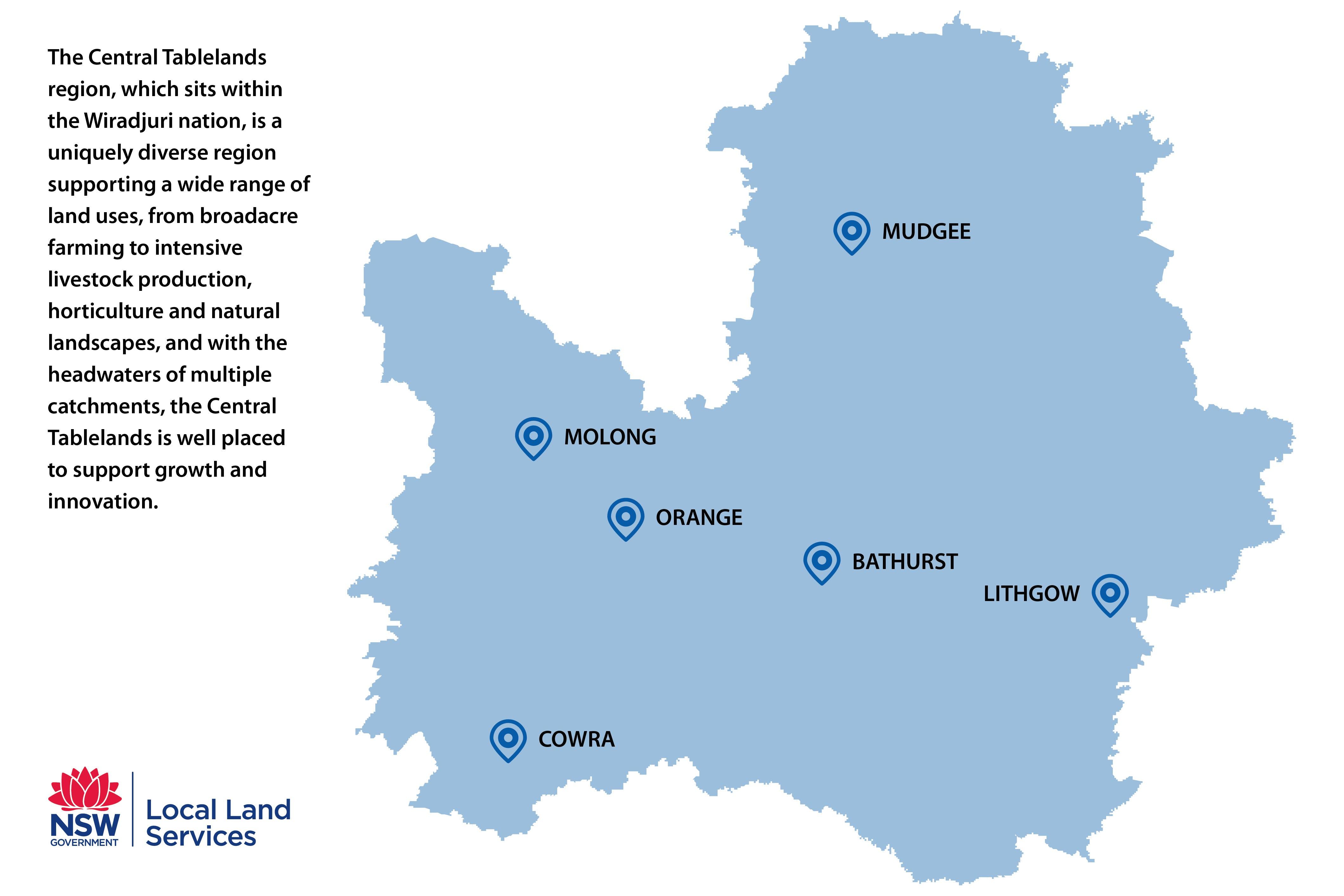 Central Tablelands region
