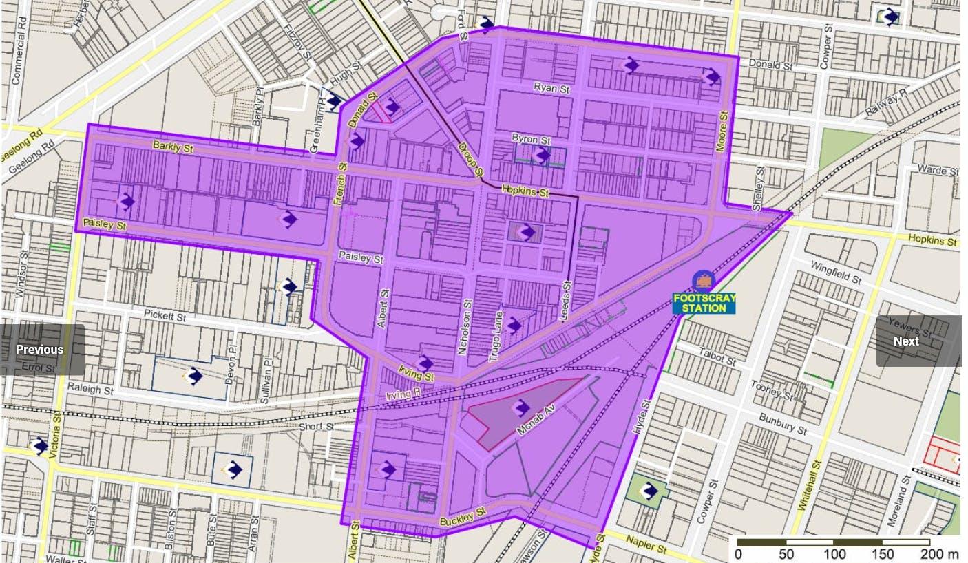 Footscray CBD