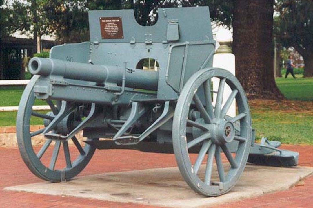WW1 Artillery Gun Restoration
