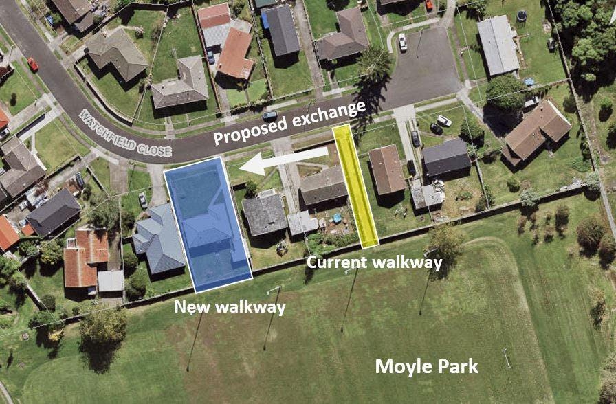 Proposed Land Exchange