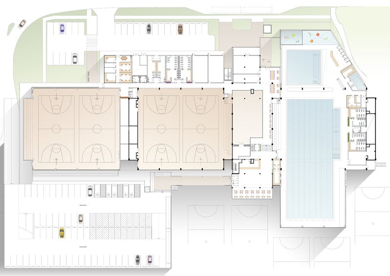 Willoughby Leisure Centre Masterplan Floor Plan High Res
