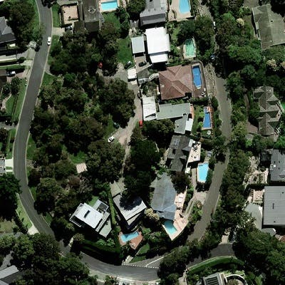 Aerial Photograph   Linden Way Reserve