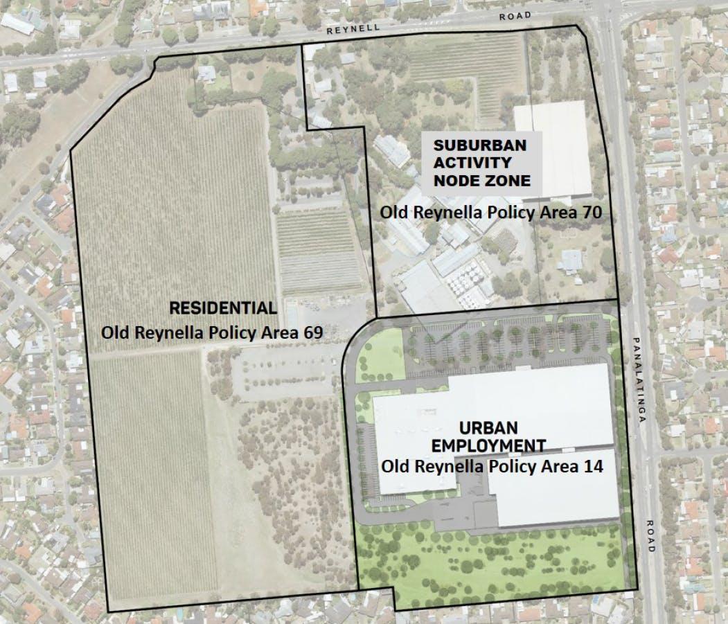 Proposed Rezoning Map