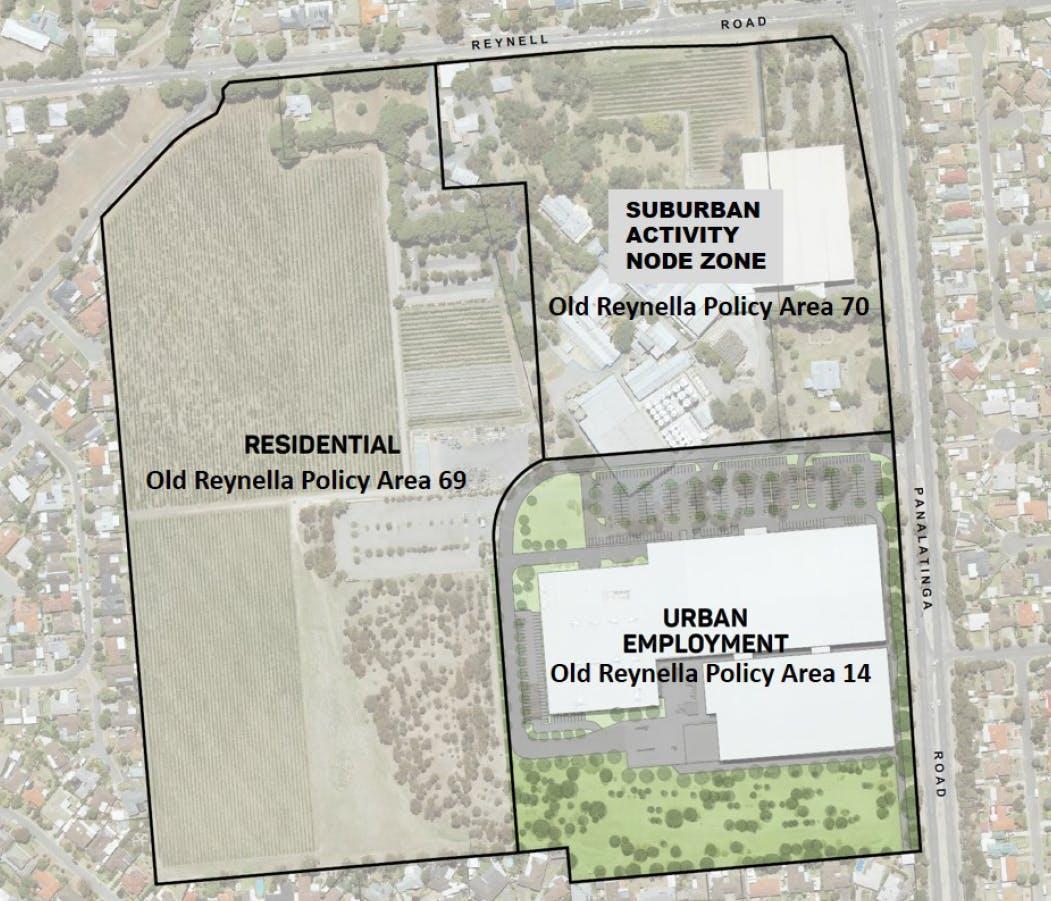 Proposed Rezoning Map