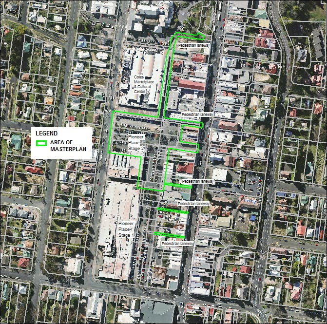 Scope Of Upper Pioneer Place Stage 2 Master Plan