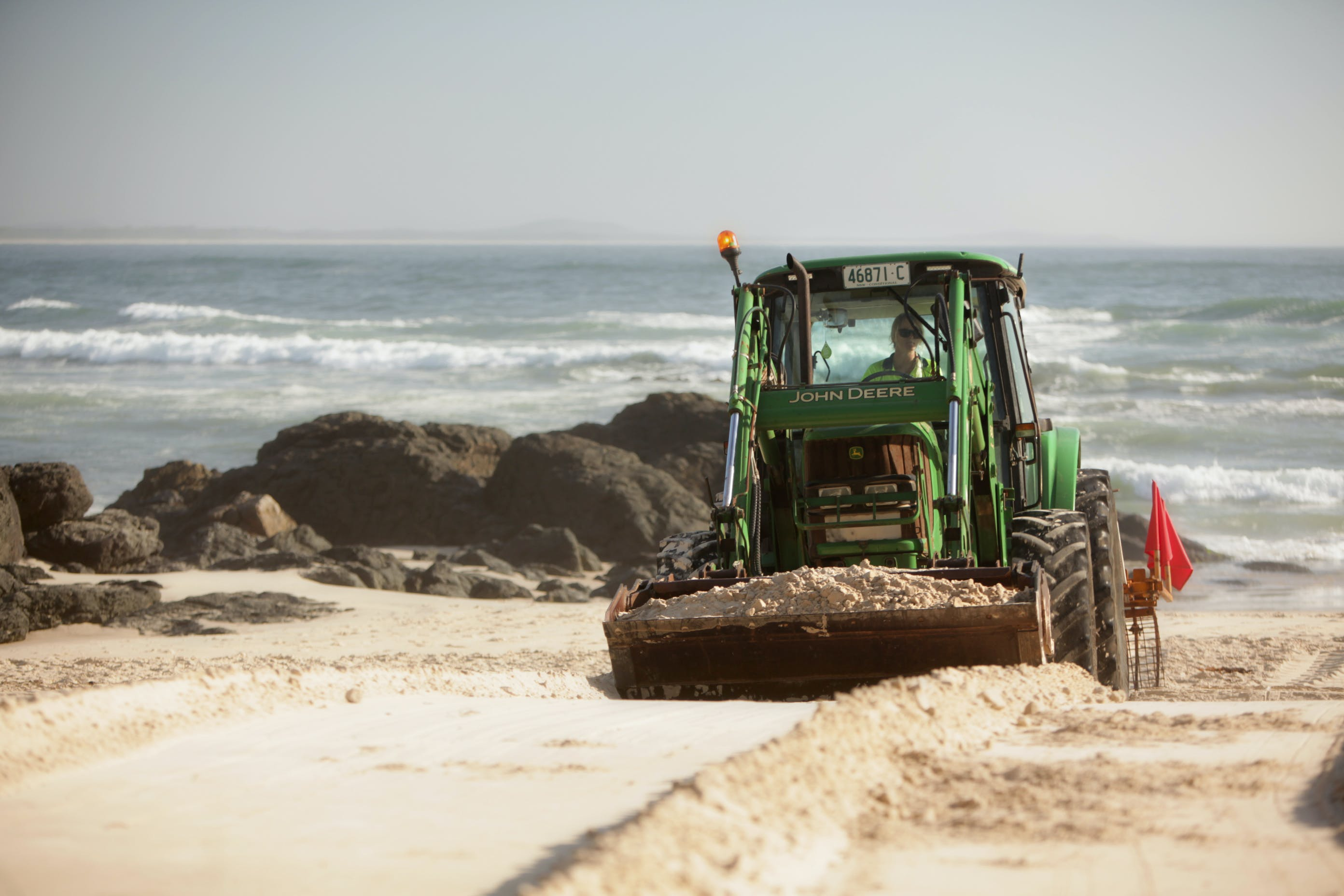 Maintaining parks, reserves and beachs
