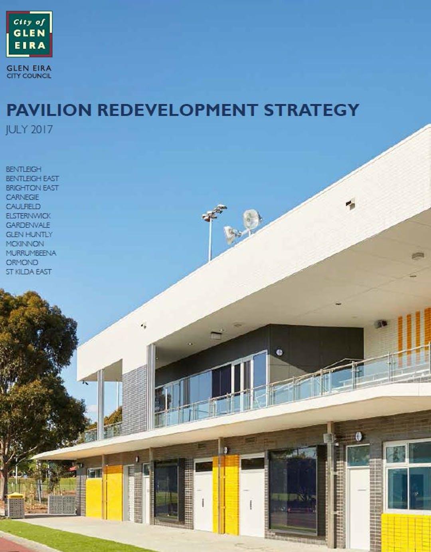 Pavilion redevelopment strategy