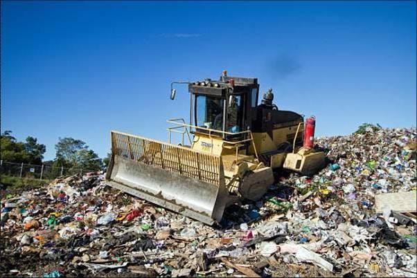 Landfill Compactor at Awaba Landfill
