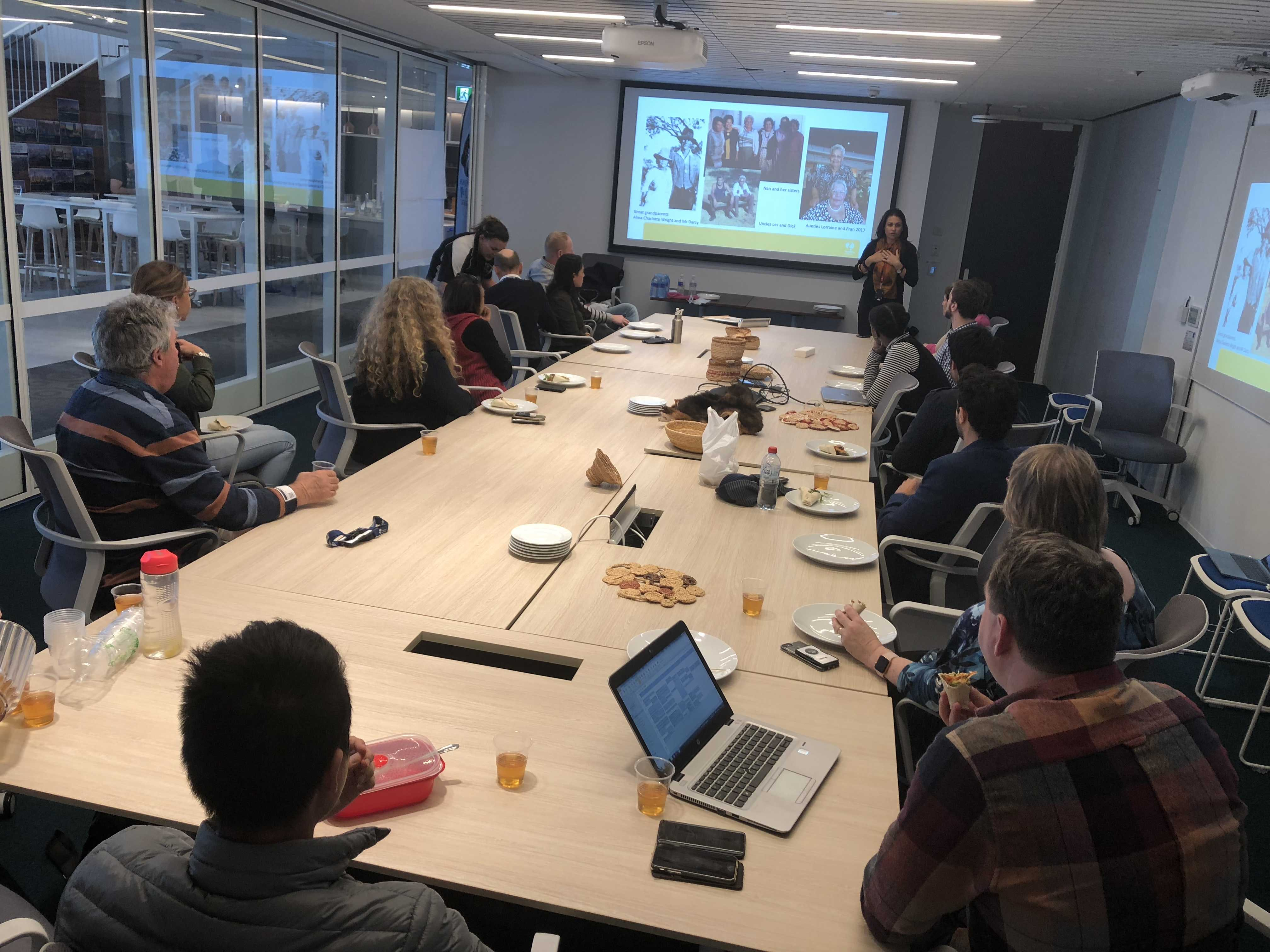Lunch&Learn and morning tea at TfNSW George Street office