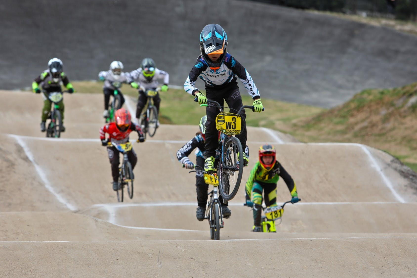In Action: Regional BMX Racing Track