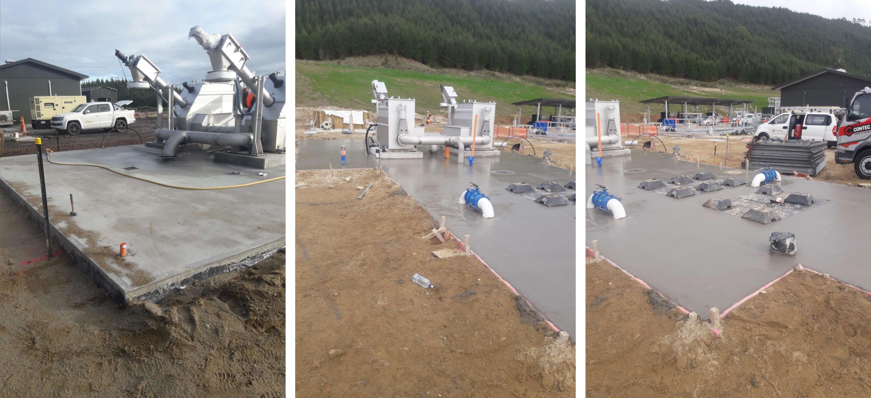 Captured: 11 June 2019 - Screen Pump Station And Flow Balance Slab
