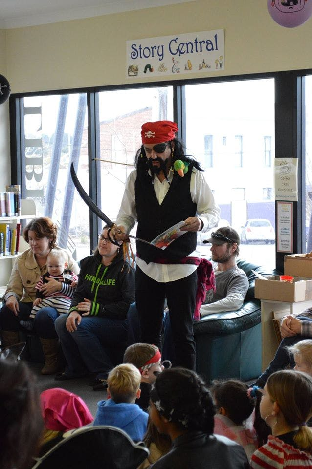 Pirate Jack Starling With Book
