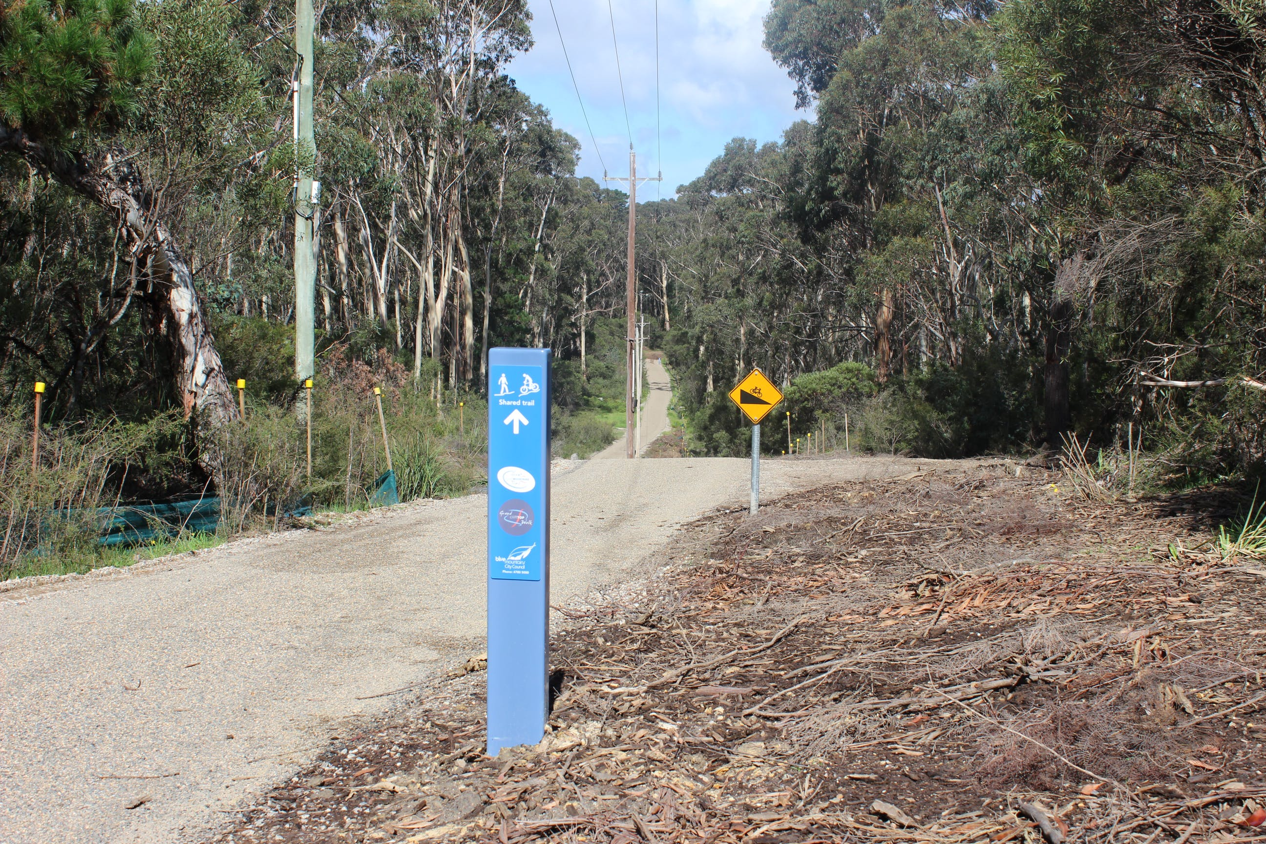 The Great Blue Mountains Trail