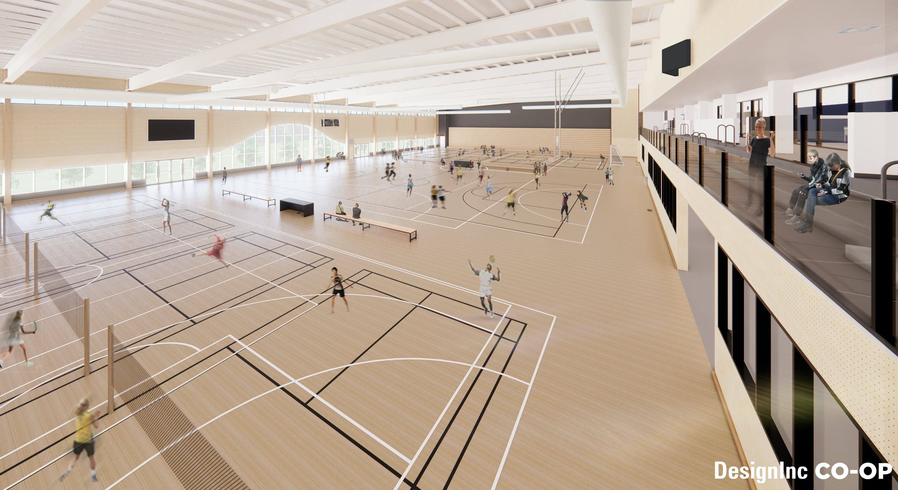 Mixed Use - Sports Courts