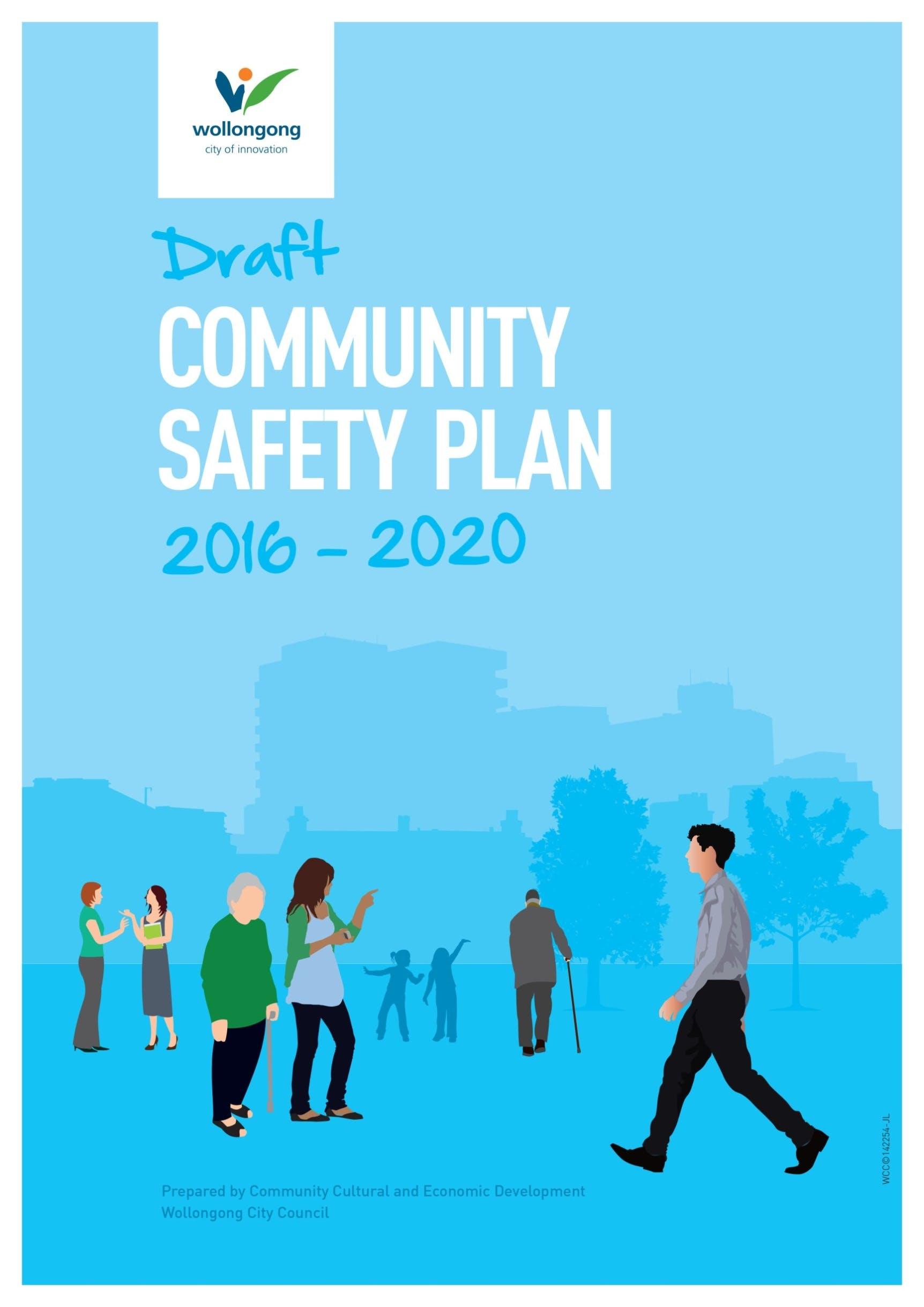 Draft communit safety plan 2016 2020