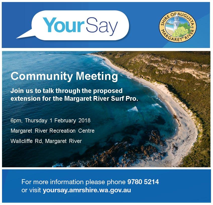 Surf Pro Community Meeting Invite