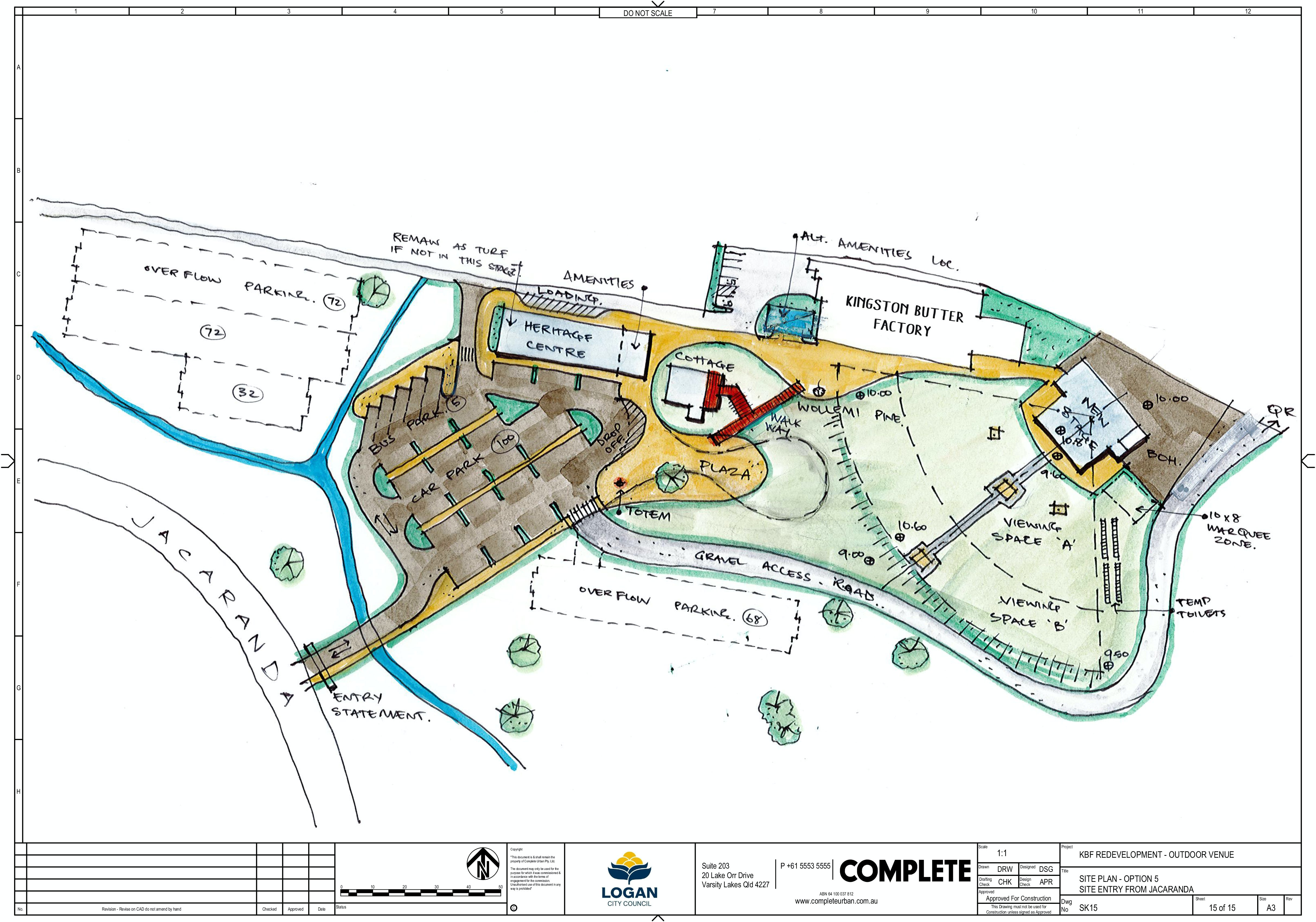Draft Site Plan - Aug19