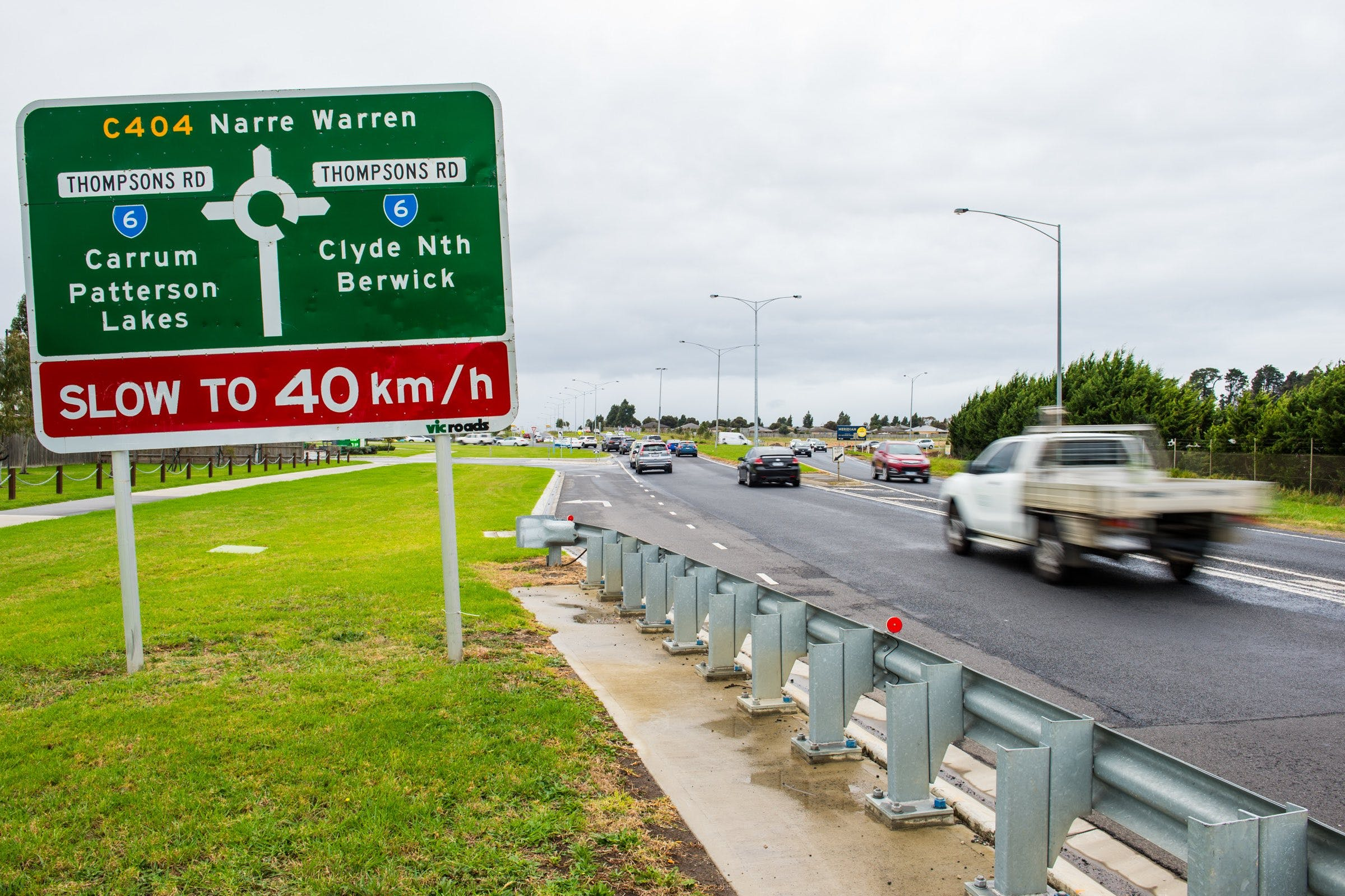Narre Warren-Cranbourne Road, Cranbourne