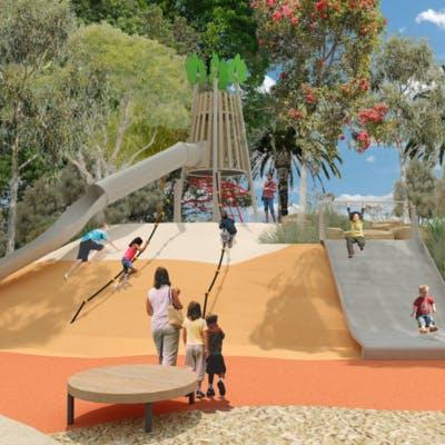 3 Mound Slides