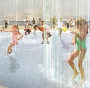 Henley Square Water Image