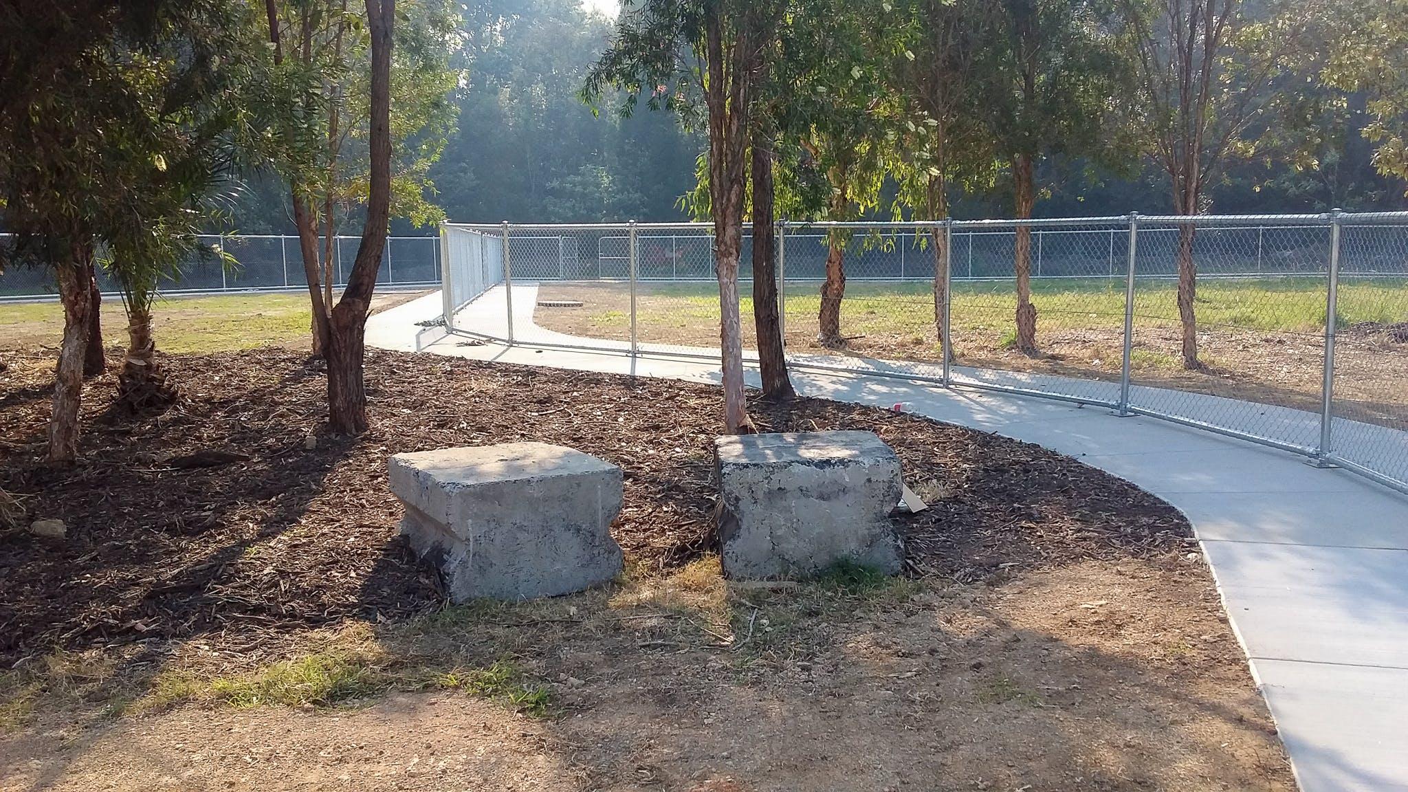 Dog exercise area 1
