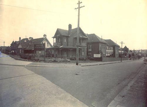 Old Marrickville Hospital 1936