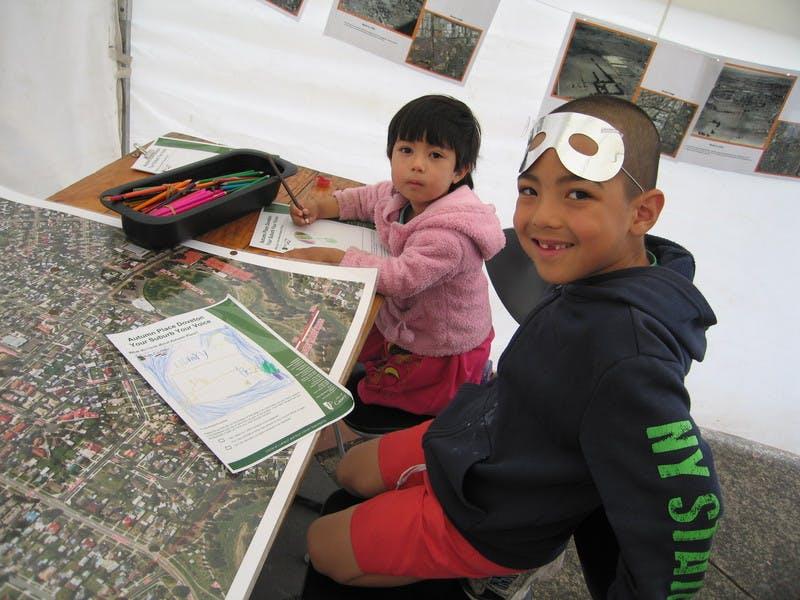 Doveton children - Nelofar & Omid Ostady