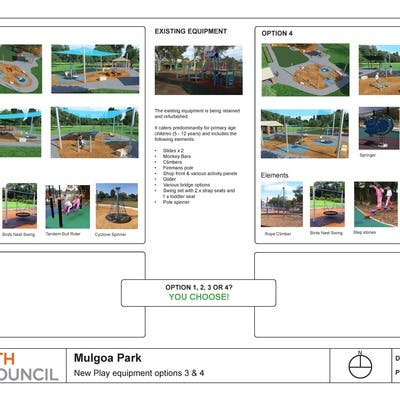 Mulgoa Park Playground Options 3 And 4