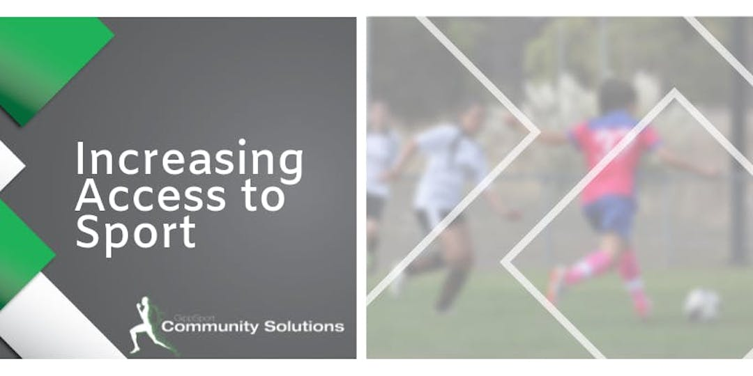 Increasing access to sport  banner