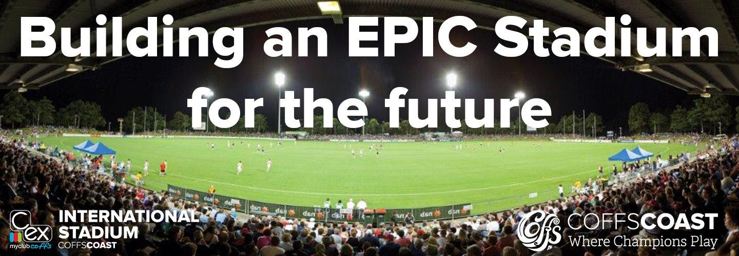 Building an epic stadium for the future project header