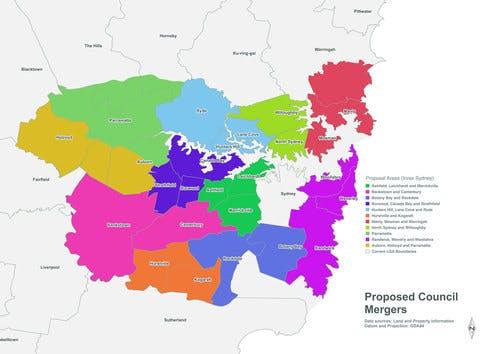 Merger Proposals   Inner Sydney Metro