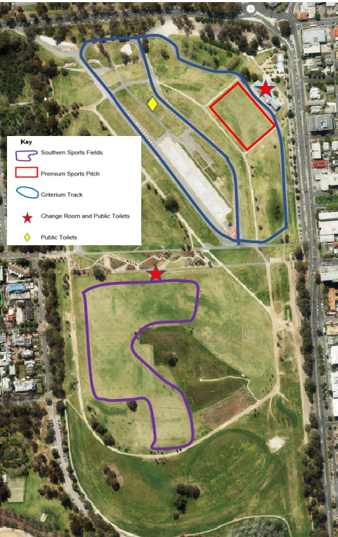 Victoria Park Registration Of Interest.Winter  2020.Sports Facilities