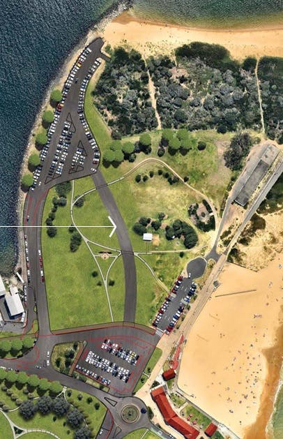 Camp Shortalnd and Foreshore Park