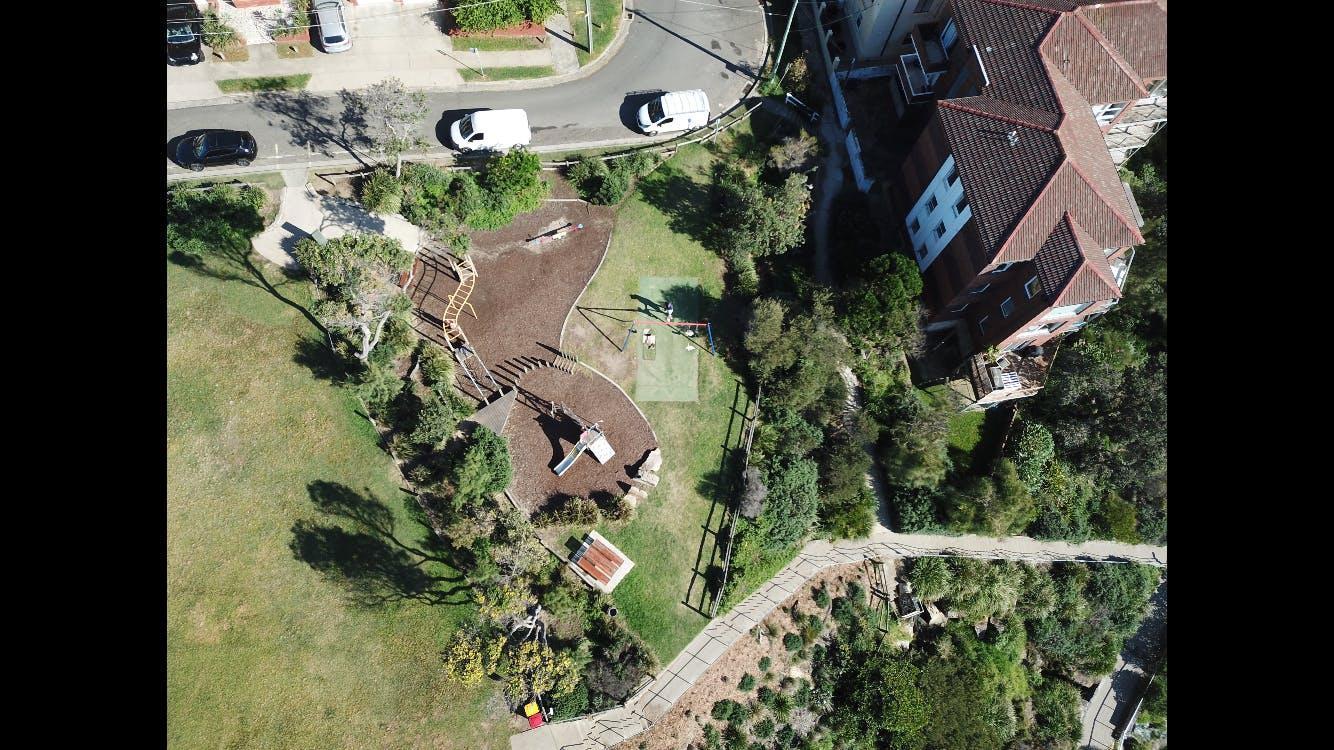 Marks Park Playground Aerial Photo
