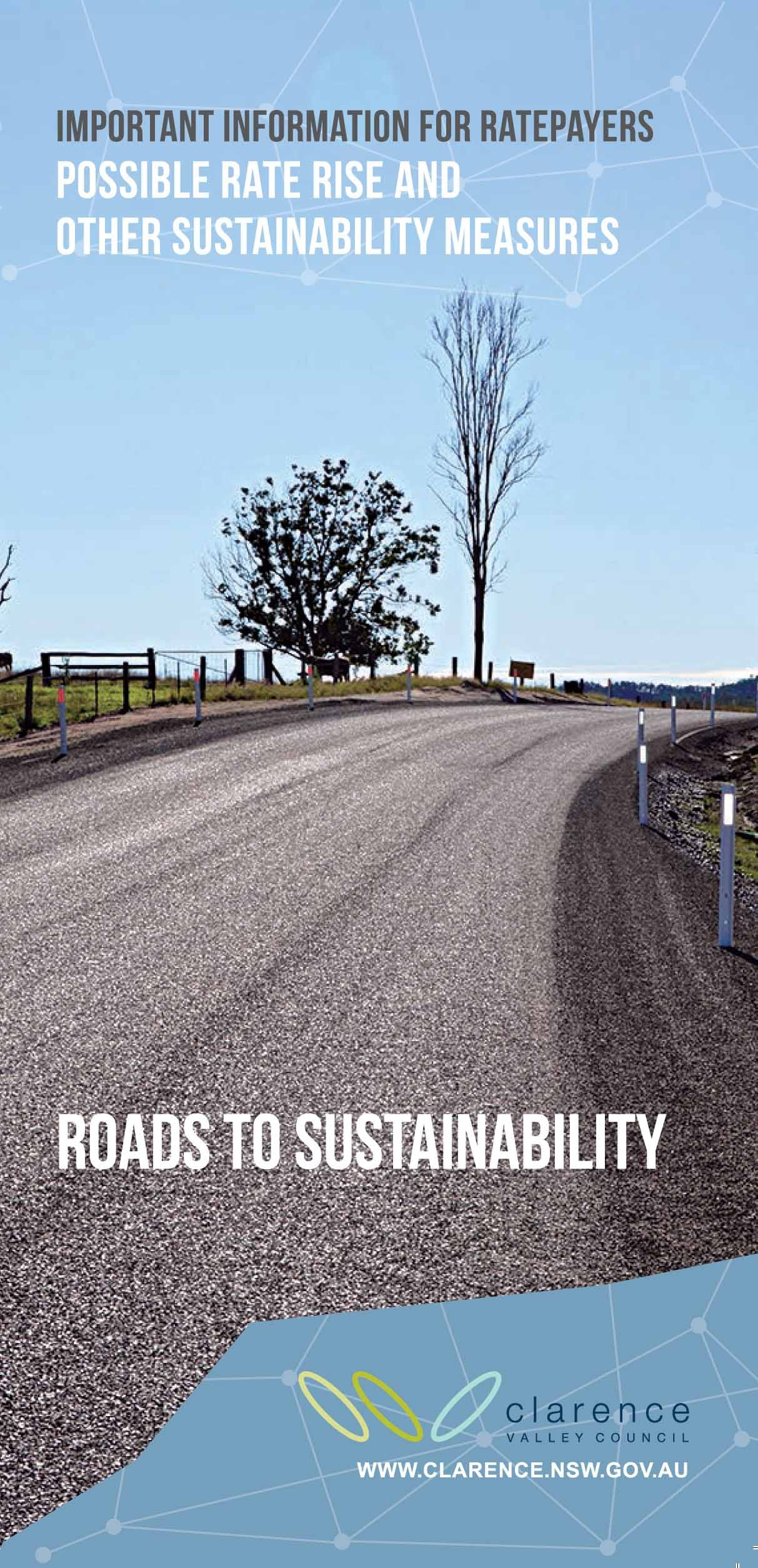 Roads to sustainability