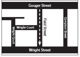 Proposed one-way reconfiguration in Field Street