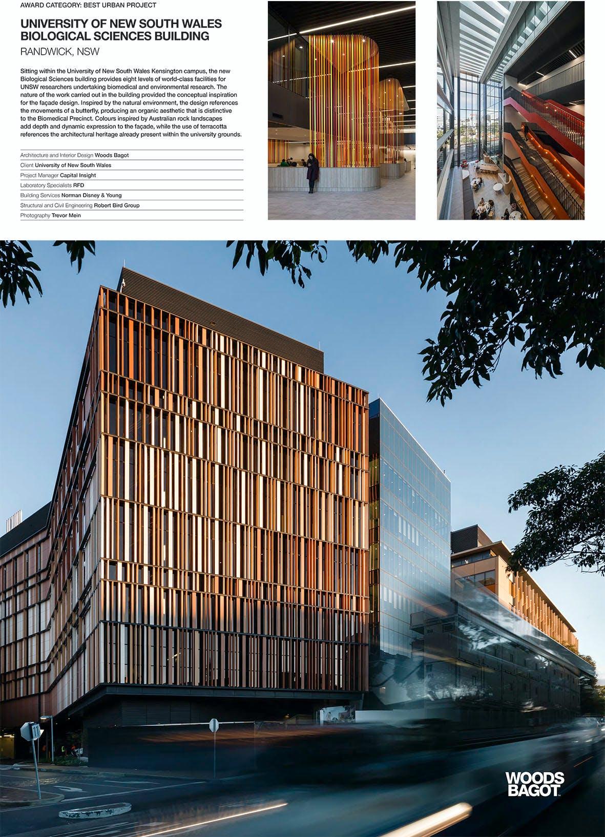 Unsw Biological Sciences Building