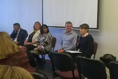 7 June 2016 - Ally speaking at the Social Inclusion through Digital Technology event hosted by Department of Housing and Public Works