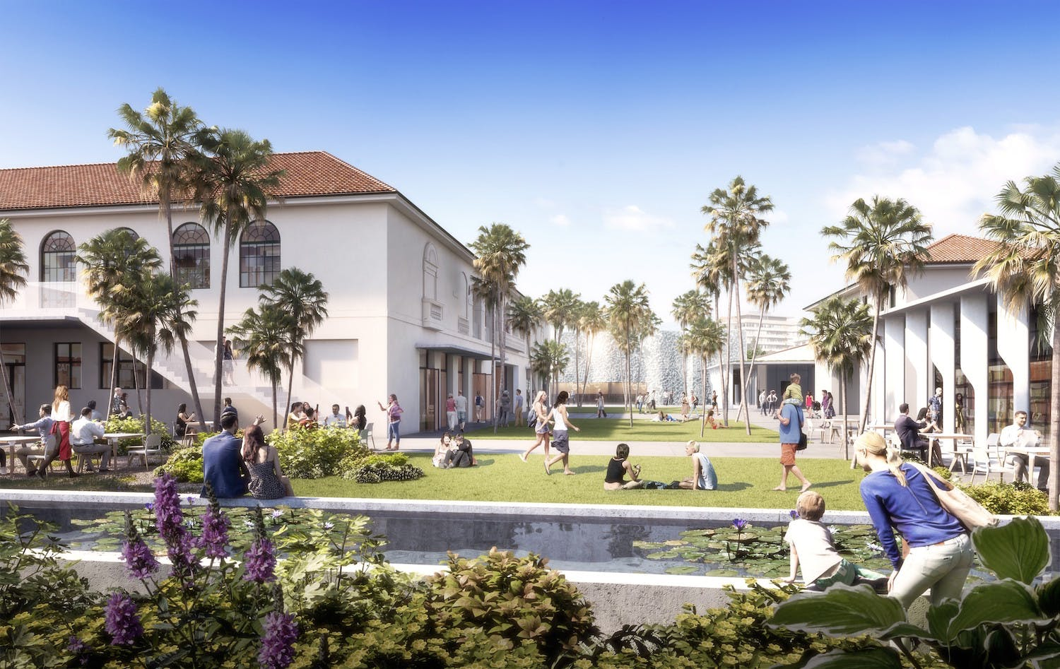 Proposed Courtyard