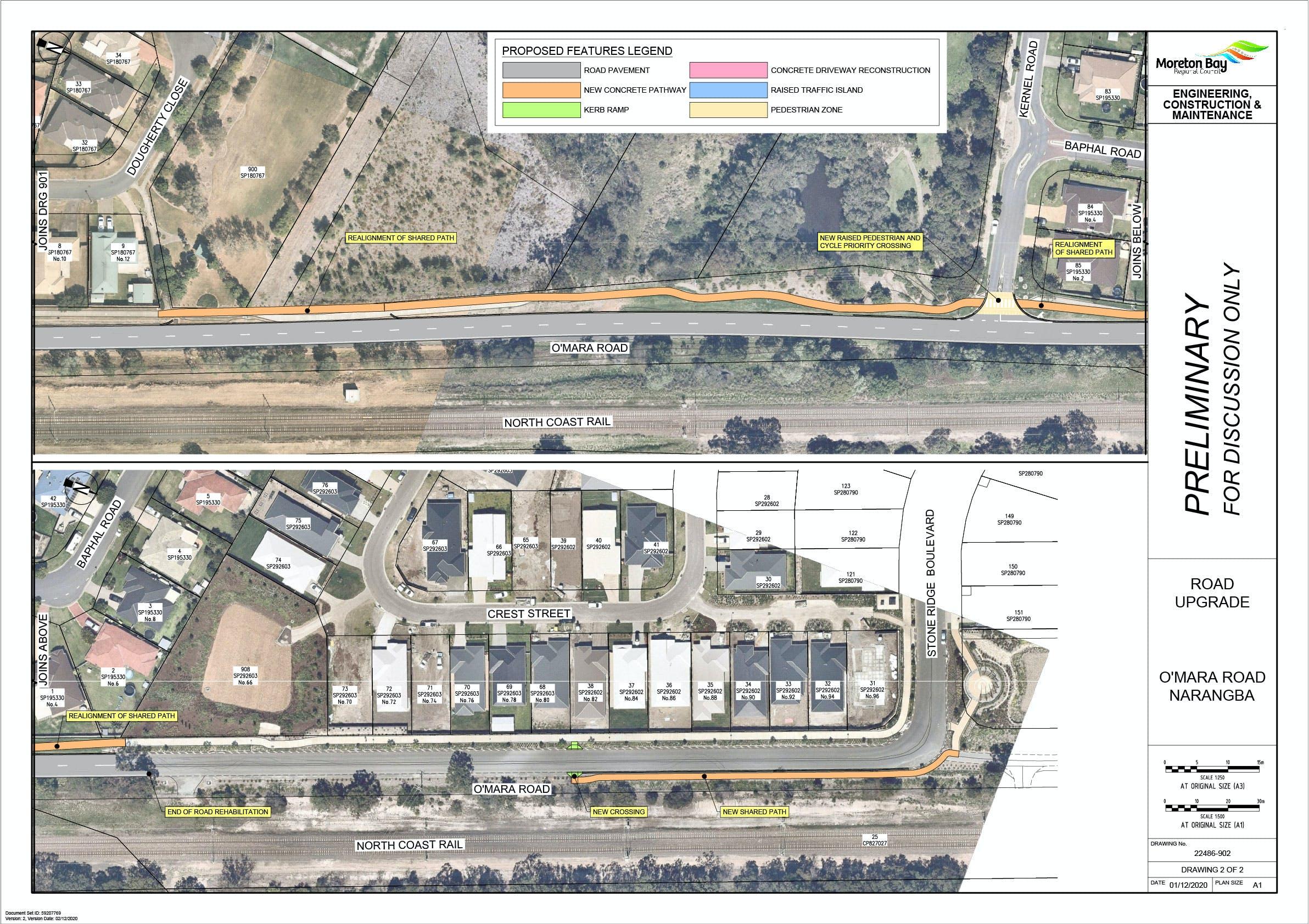 O'Mara Road Concept Design (2)