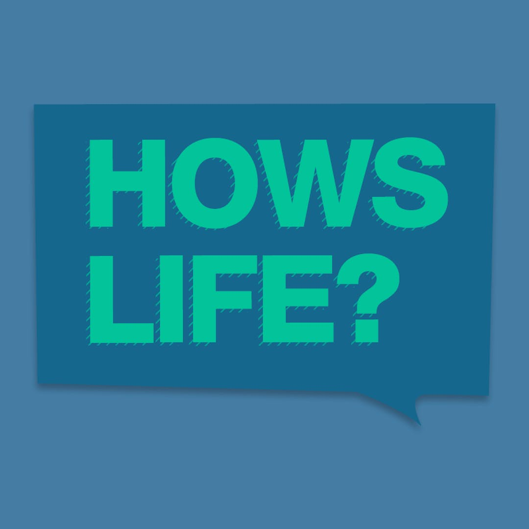 How's Life graphic tile