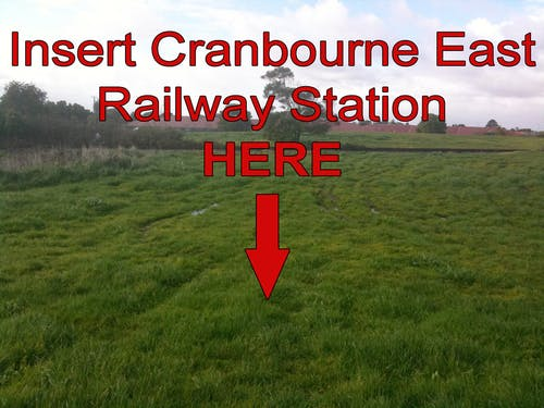 Residents in Cranbourne East need their railway station