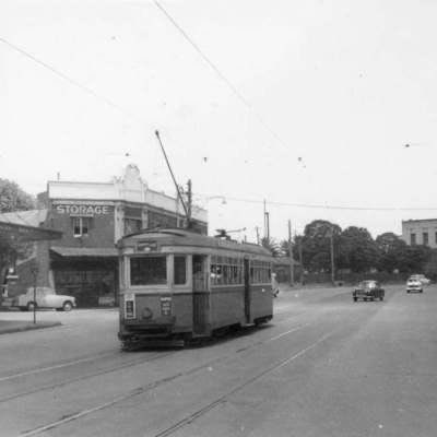 Yesterday - Doncaster Avenue intersection 1961