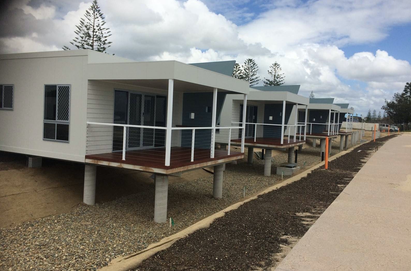 Another View Of The Kingscliff Beach Holiday Park Cabins