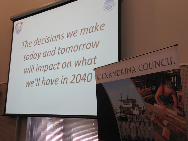 Alexandrina Council Vision2040 impact statement