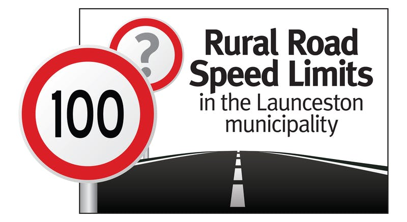 Rural road speed limits