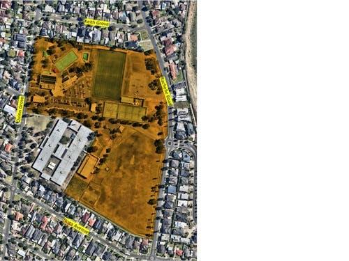 Quinn Grove Reserve aerial